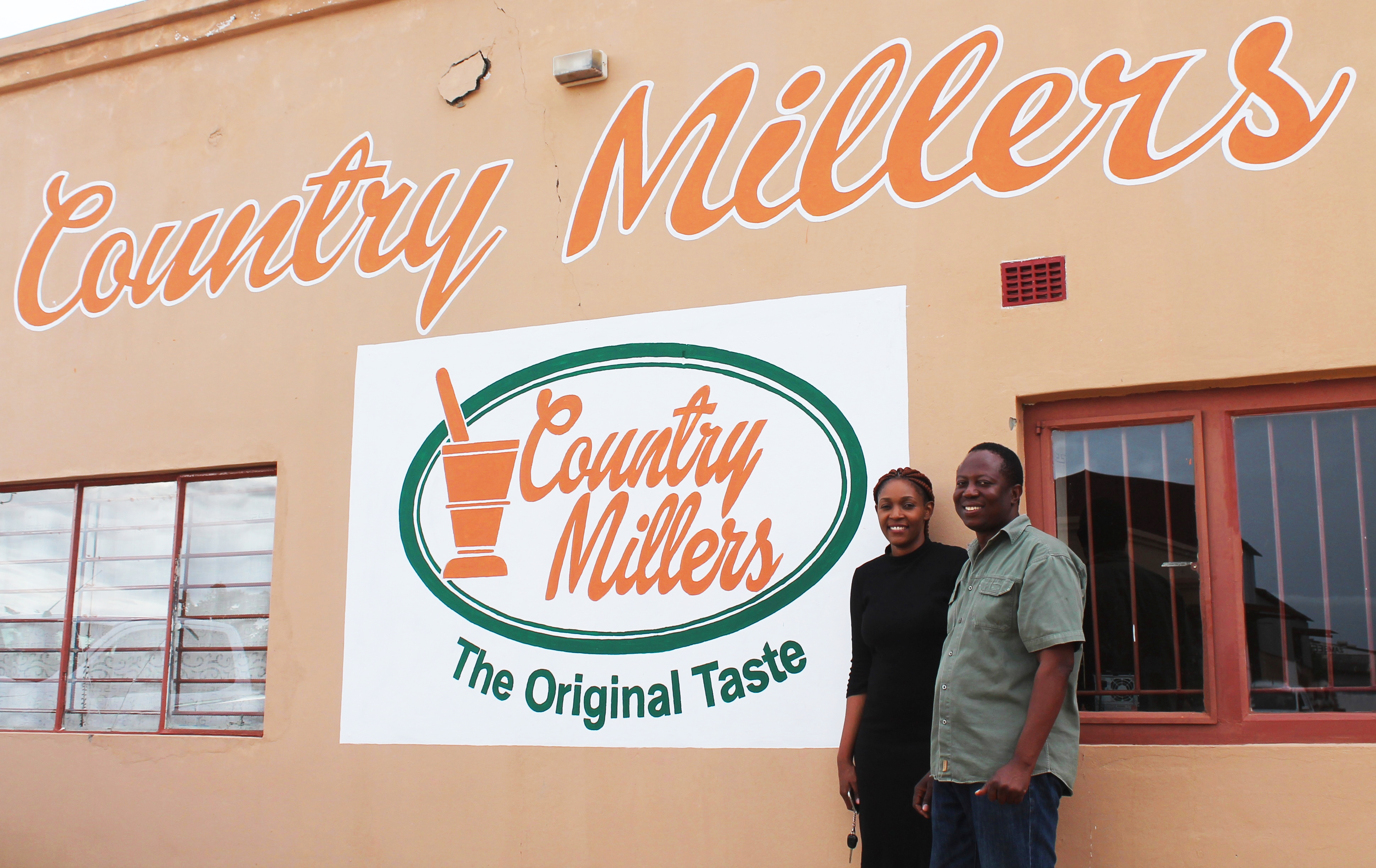 Country millers in Zambia